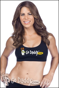 Jillian Michaels GoDaddy ad