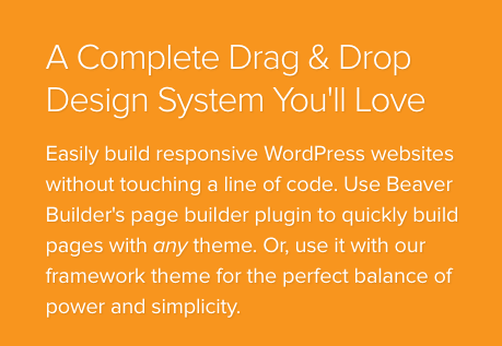 Beaver Builder is the best page builder on the market