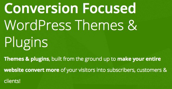 Thrive Themes makes conversion focused themes and tools for WordPress