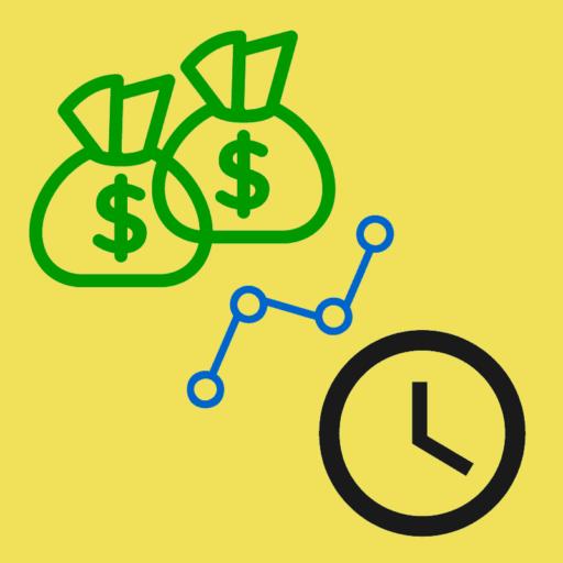 $1000 / hour activity icon
