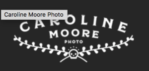 Logo from photography Caroline Moore