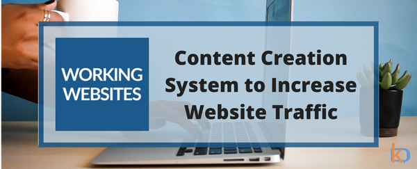 Content Creation System to Increase Website Traffic