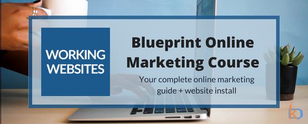 Working Websites Blueprint Marketing Courses