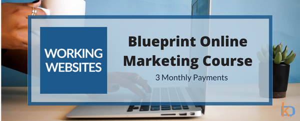 Working Websites Blueprint Course - 3 monthly payments