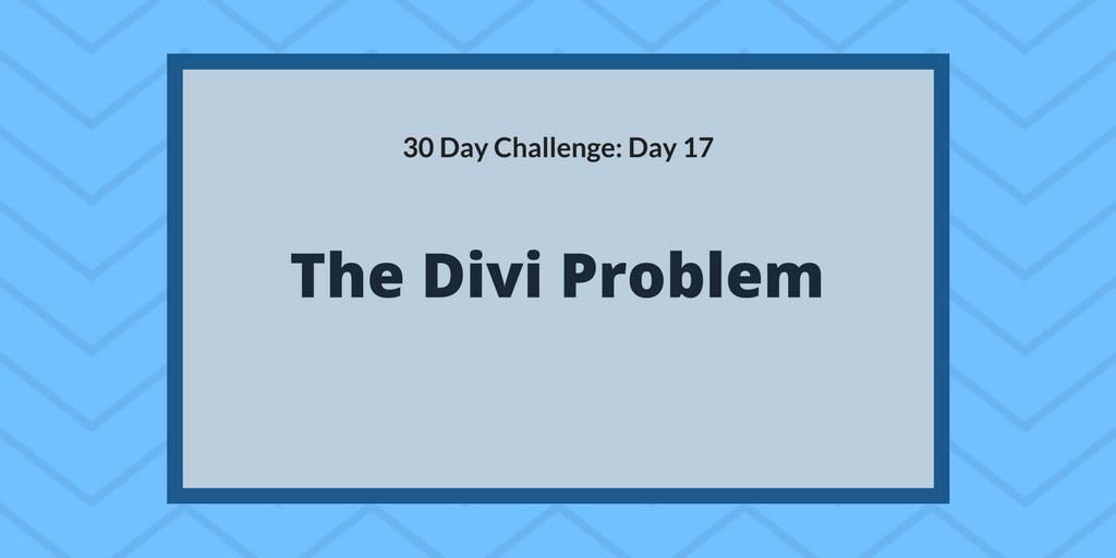 The Divi Problem